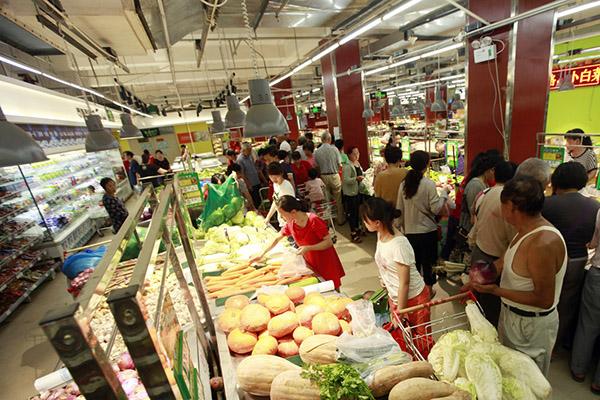 贡菜(苔干)超市采购案例